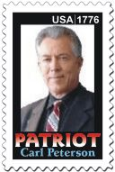 Carl Peterson, Patriot